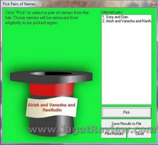 The Hat Aplikasi Untuk Mengundi Nama Jagat Review