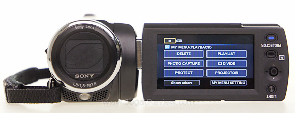Sony Handycam PJ5 Review : Camcorder, Projector with 3