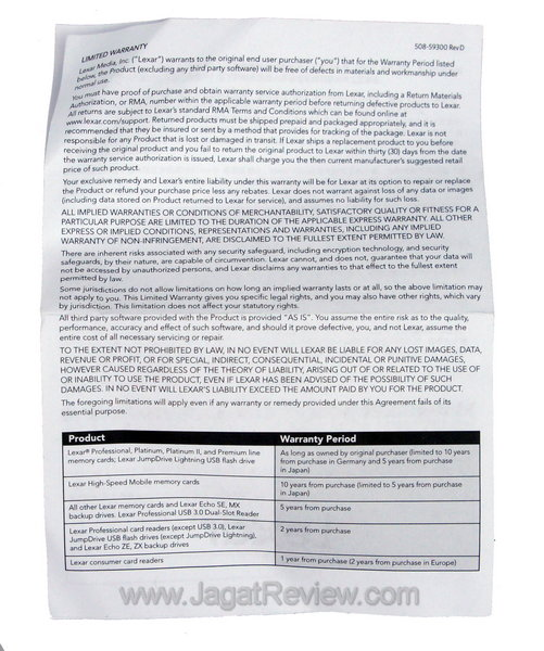 Lexar Professional Card Reader Manual