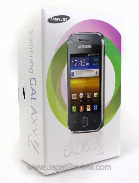 Samsung Galaxy Y Kemasan