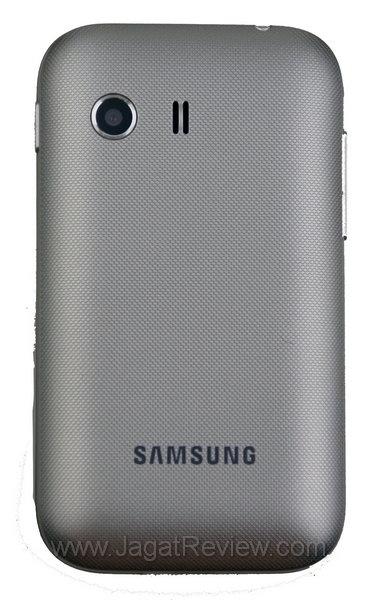 Samsung Galaxy Y Tampak Belakang