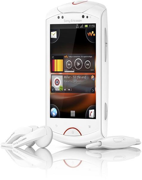 Live Walkman Front White