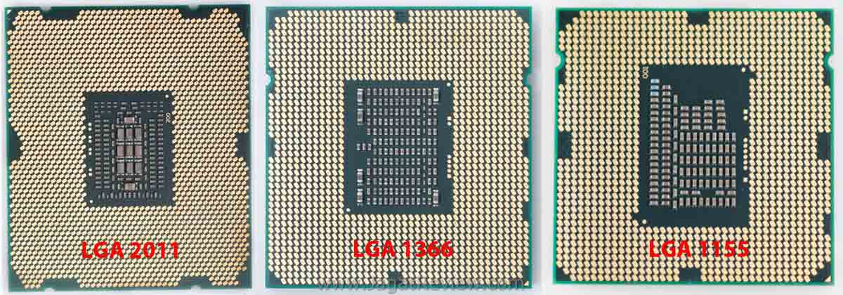 SandyBrige E comparison back cpu