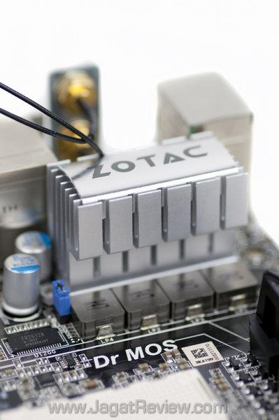 zotac a75 itx wifi jagatreview Board DrMOS
