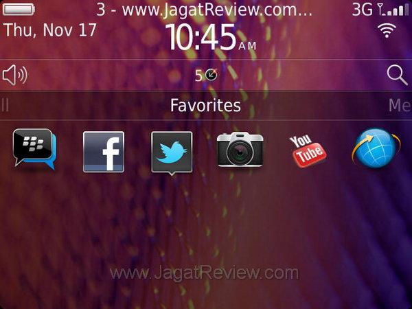 Blackberry Bold 9900 Favourites