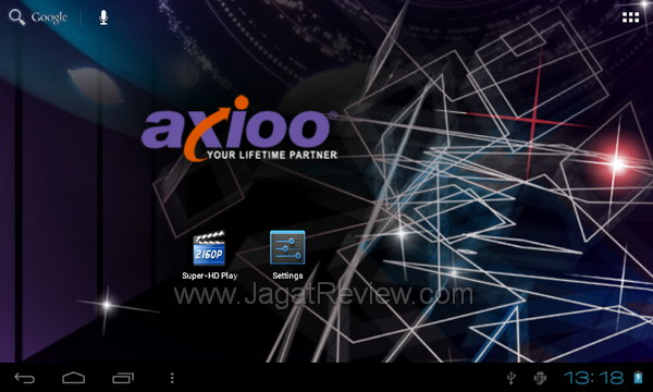 Axioo PicoPad 7 - Homescreen 4
