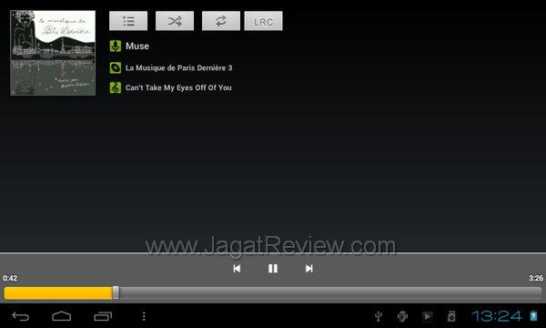 Axioo PicoPad 7 - Musik