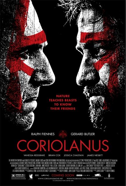 coriolanus movie poster 01