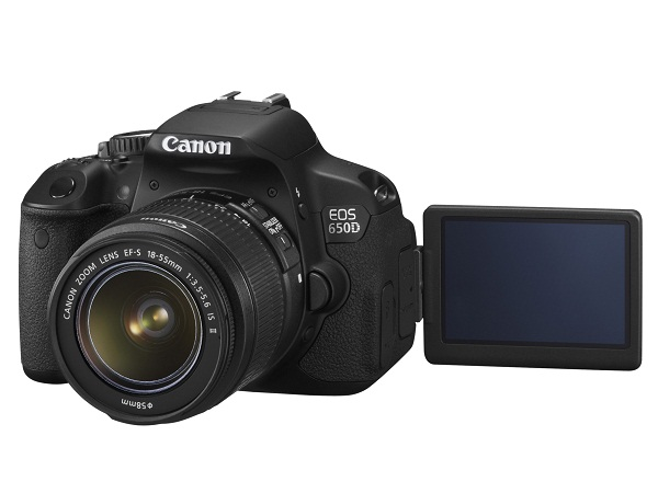 Canon EOS 650D Front