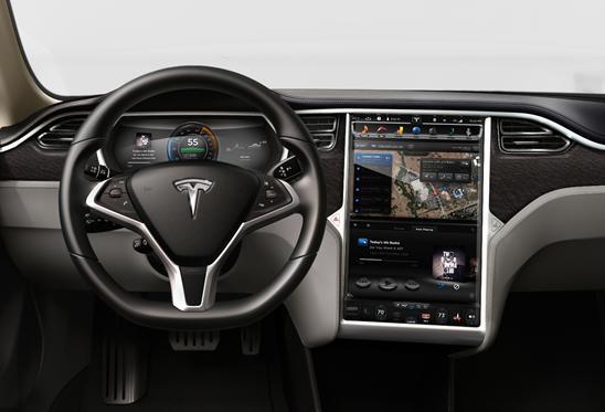 Tesla Model S NVIDIA Tegra VCM