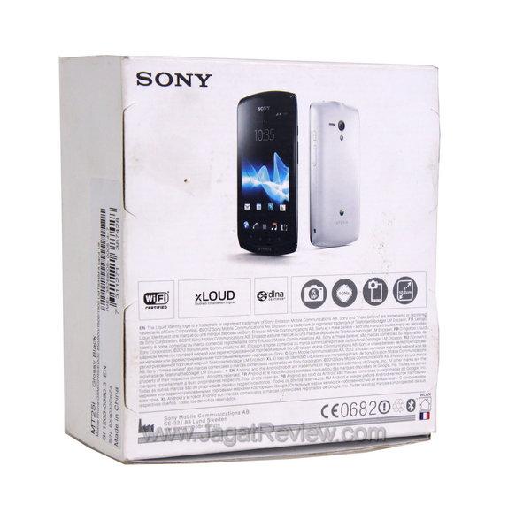 Sony Xperia Neo L Kemasan Belakang