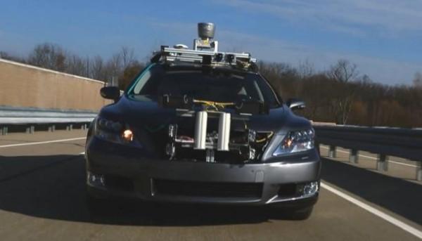 Lexus Autonomous Car
