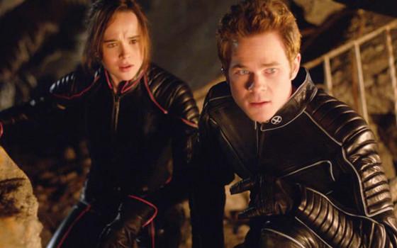 X Men Ellen Page and Shawn Ashmore
