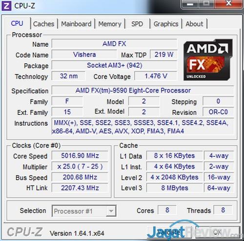 AMD FX 9590 cpu 5016