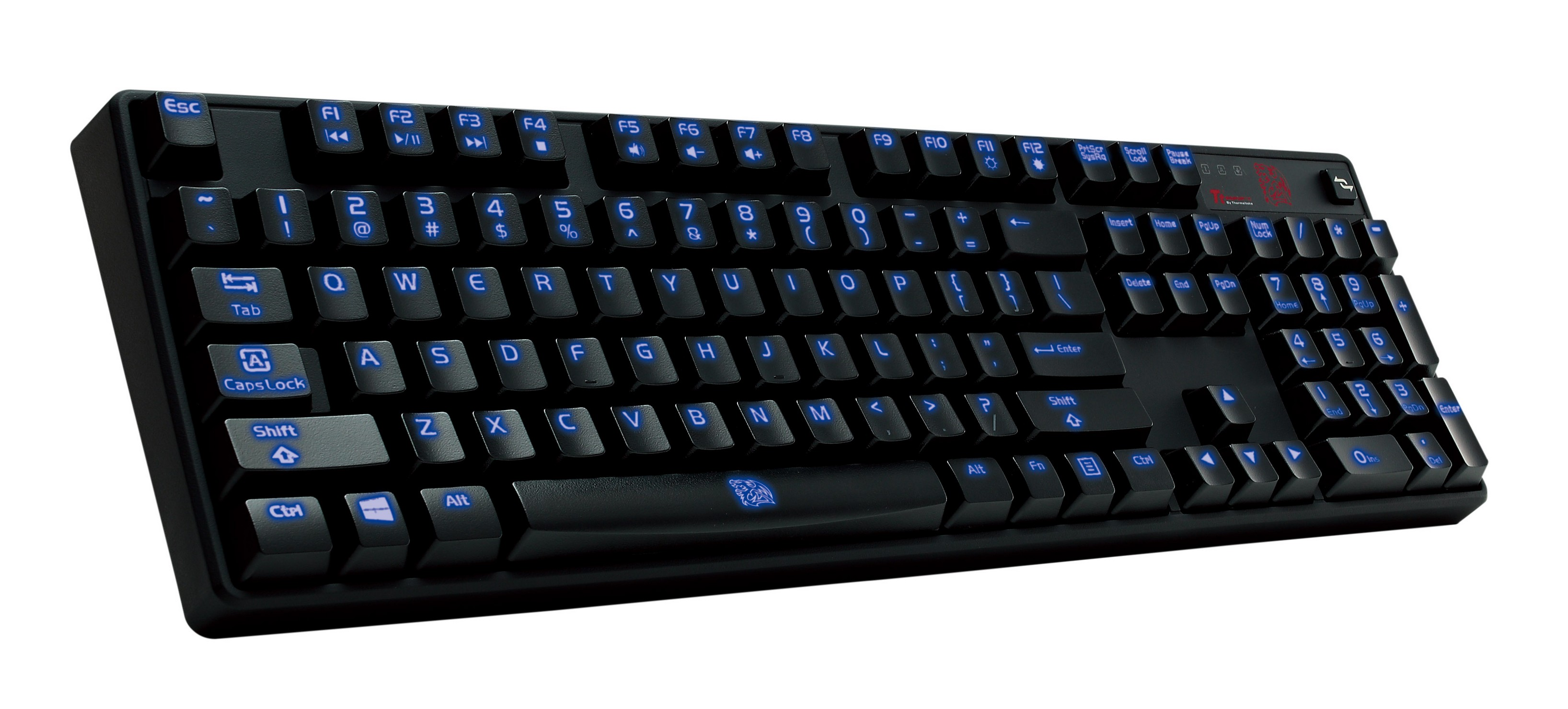 Tt eSPORTS Introduces an Ultimate Gaming Weapon The New Poseidon Illuminated Mechanical Gaming Keyboard