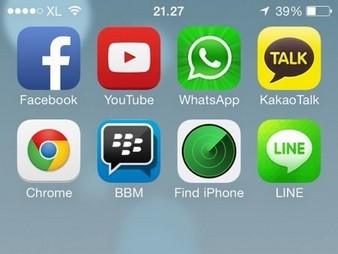 BBM iOS 21 F