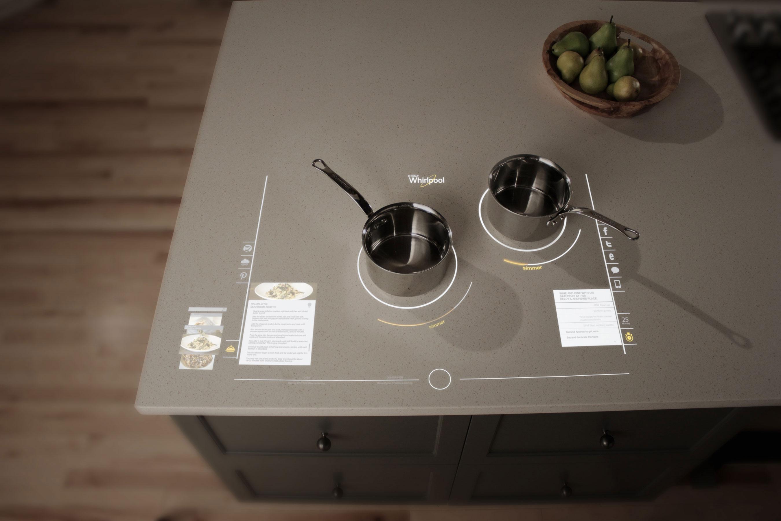 Whirpool Pamerkan Teknologi Dapur Masa Depan