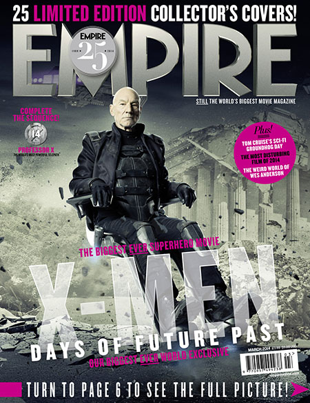 X Men Days of Future Past Empire Cover 14 Future Professor X Thumbnail