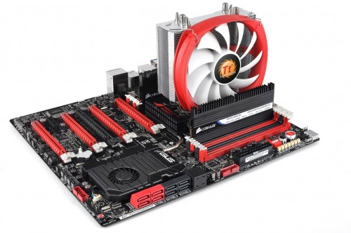 Experience the whole new Thermaltake NiC L31L32 Non-interference Cooler