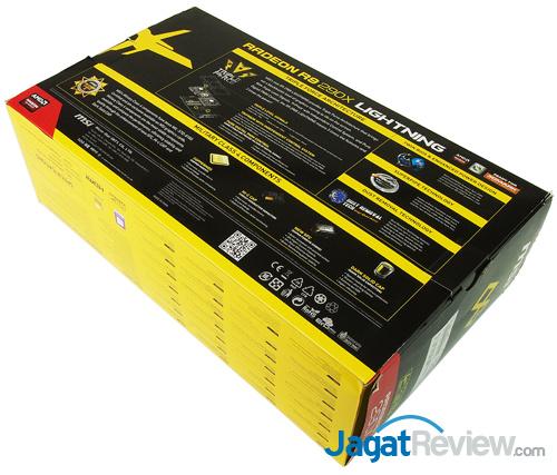 msi r9 290x lightning rear box