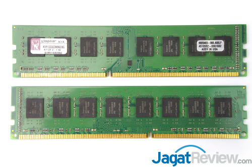 Dual-sided DIMM