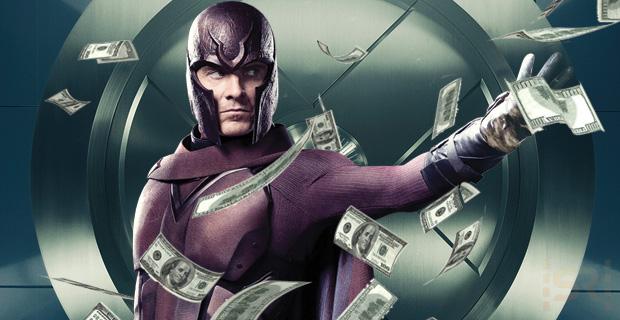 X Men Days of Future Past Magneto Money Box Office