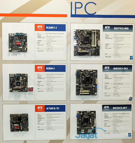 booth raid ecs multimedia & ipc motherboard