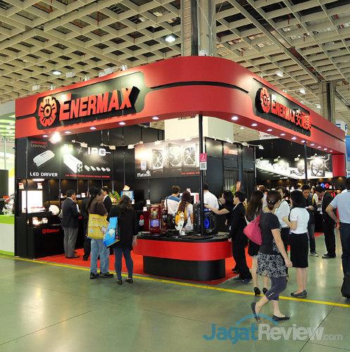 booth raid enermax booth