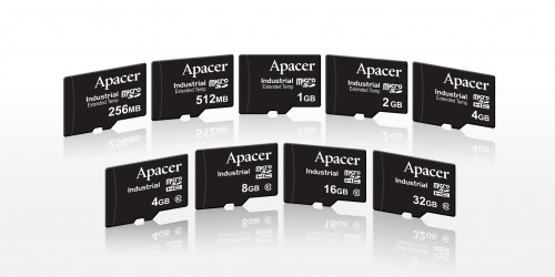 Apacer Industrial MicroSD Image