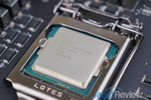 Mulai saat ini, semua pengujian motherboard Z97 kami akan menggunakan prosesor Intel Core i7-4790K