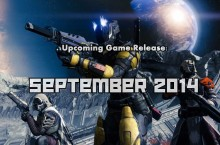 Upcoming Game Release: September 2014