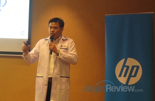 Ray Christian, Product Manager, HP Server, HP Indonesia