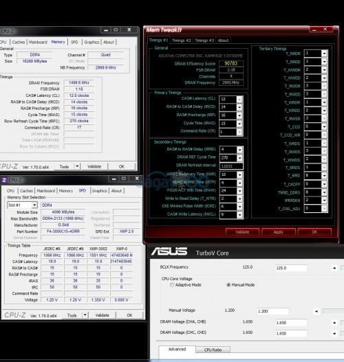 Ripjaws 4 DDR4-3000, CL 12-14-16-15 1T