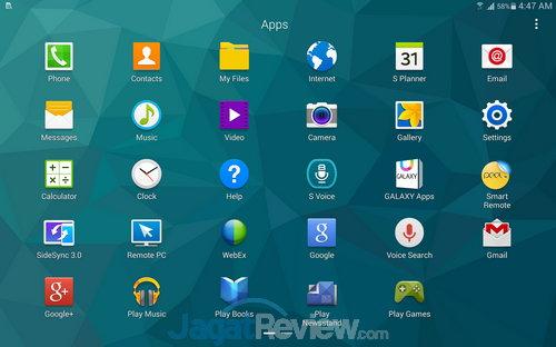 Samsung Galaxy Tab S SS OS (12)