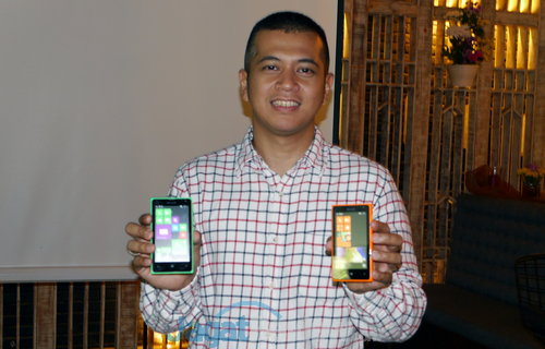 Microsoft Lumia 532 dan Lumia 435 2