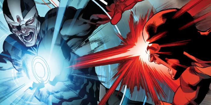 Alex Summers Havok vs Scott Summers Cyclops All New X Men 12