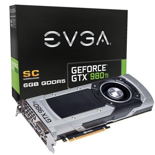 EVGA GTX 980 Ti Superclocked 1102 1190 7010