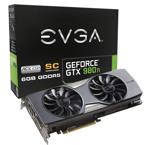 EVGA GTX 980 Ti Superclocked ACX 2.0+ 1102 1190 7010