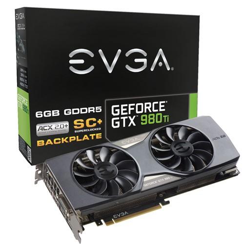 EVGA GTX 980 Ti Superclocked+ ACX 2.0+ 1102 1190 7010