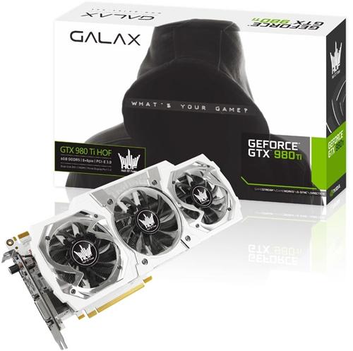 GALAX NVIDIA GeForce GTX 980 Ti HOF 1190 1291 7010