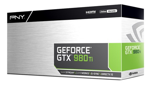 PNY GTX 980 Ti Box