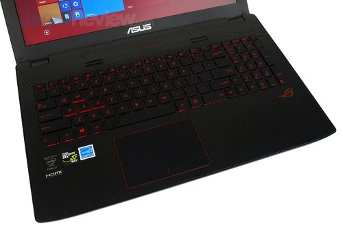 ASUS ROG GL552JX Keyboard & Touchpad