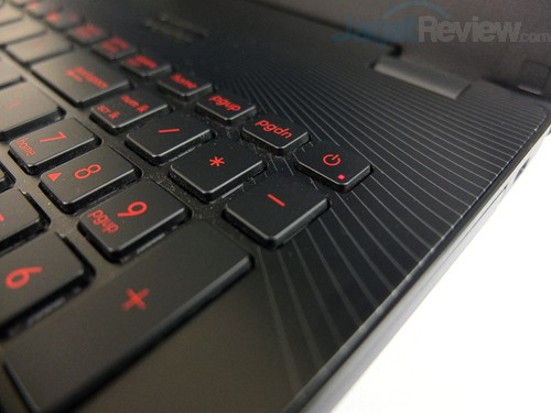 ASUS ROG GL552JX Power Button