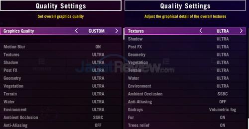 Far Cry 4 Setting Ultra