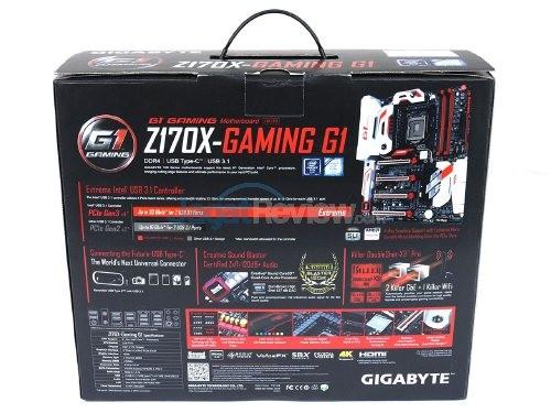 Motherboard GIGABYTE Z170X-Gaming G1 BackBox