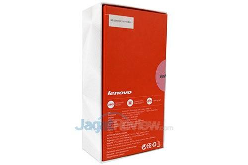 Lenovo S60 - Paket Penjualan Belakang