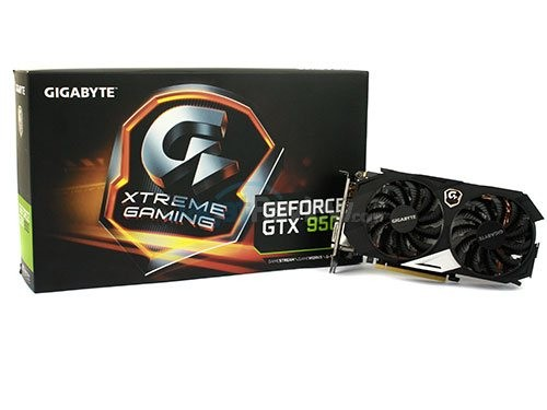 GIGABYTE GTX 950 Xtream Gaming