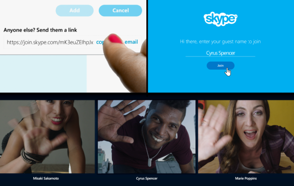 skype chats new