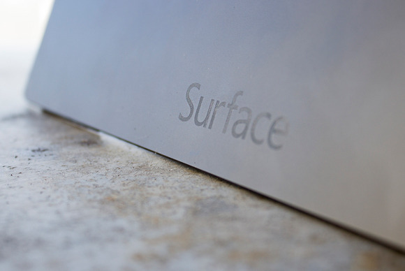 surface p