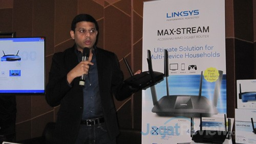 Jaimohan Thampi, Head of Networking BU, Int'l Markets (APeA) for Linksys